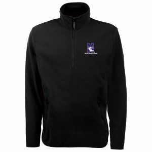Northwestern Widcats Antigua Men's Black Jacket  Ice Pullover 100604