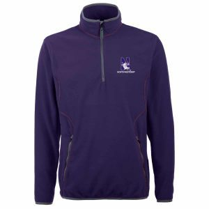 Northwestern Widcats Antigua Men's Purple Jacket  Ice Pullover 100604