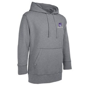 Northwestern Widcats Antigua Grey Men's Hoded Sweatshirt   Signature Hood 100234
