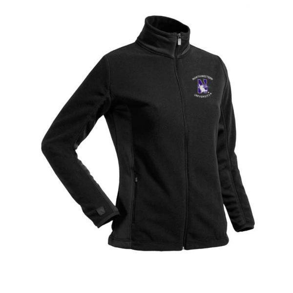 Northwestern Widcats Antigua Women's Black Jacket     Women's Sleet 425203