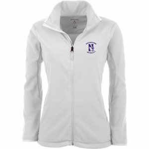 Northwestern Widcats Antigua  Women's White Jacket     Ice Jacket 100607