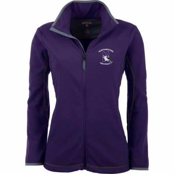 Northwestern Widcats Antigua  Women's Purple Jacket     Ice Jacket 100606