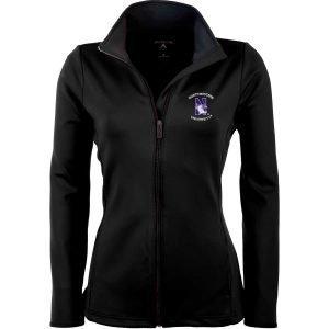 Northwestern Widcats Antigua  Women's Black Jacket   Women's Leader 100696