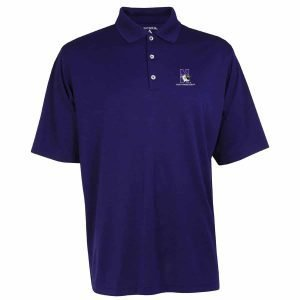 Northwestern Widcats Antigua  Men's Purple Polo Shirt    Exceed 100208