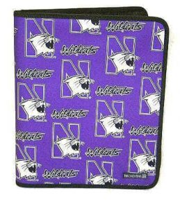 Northwestern Widcats Zippered Portfolio