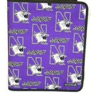 Northwestern Widcats Zippered Portfolio