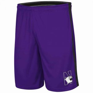 Northwestern Wildcats Colosseum Men's Purple Phanthom Short