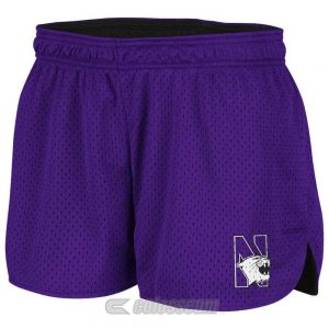 Northwestern Wildcats Colosseum Women's Purple Twist Mesh Short