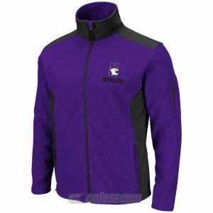 Northwestern Wildcats Colosseum Men's Purple/Black Halfpipe Jacket