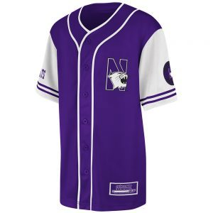 Northwestern Wildcats Colosseum Youth Purple Rally Baseball Jersey