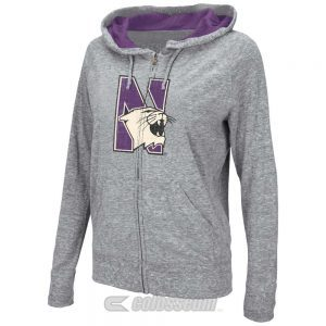 Northwestern Wildcats Colosseum Women's Vintage Chase Full-Zip Jacket