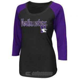 Northwestern Wildcats Colosseum Women's Tango Tee
