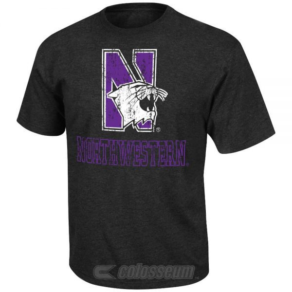 Northwestern Wildcats Colosseum Men's Tournment Tee