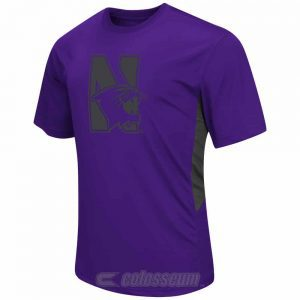 Northwestern Wildcats Colosseum Men's Lift Short Sleeve Tee