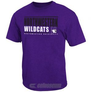 Northwestern Wildcats Colosseum Men's Circuit Tee Shirt