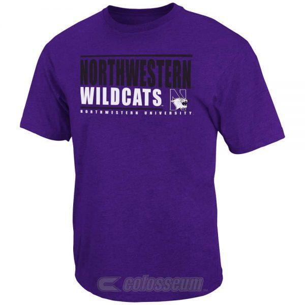 Northwestern Wildcats Colosseum Men's Circuit Tee Shirt