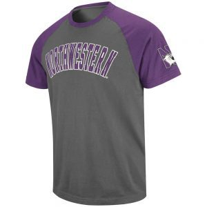 Northwestern Wildcats Colosseum Men's Encore Short Sleeve Tee Shirt