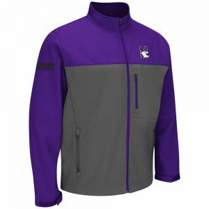 Northwestern Wildcats Colosseum Men's Yukon II Full-Zip Jacket