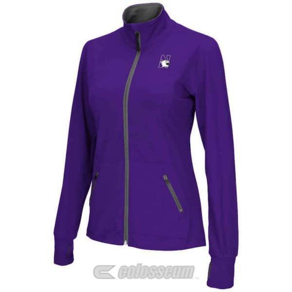 Northwestern Wildcats Colosseum Women's Pride Jacket