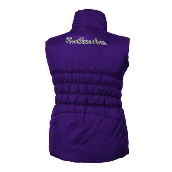 Northwestern Wildcats Colosseum Women's Olympia Vest