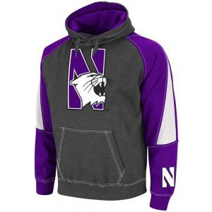 Northwestern Wildcats Colosseum Men's Hooded Sweatshirt