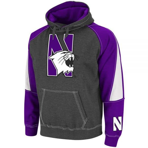 Northwestern Wildcats Colosseum Men's Hooded Sweatshirt
