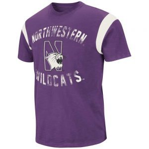 Northwestern Wildcats Colosseum Youth Tee Shirt