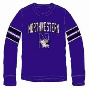Northwestern Wildcats Colosseum Long Sleeve Tee Shirt