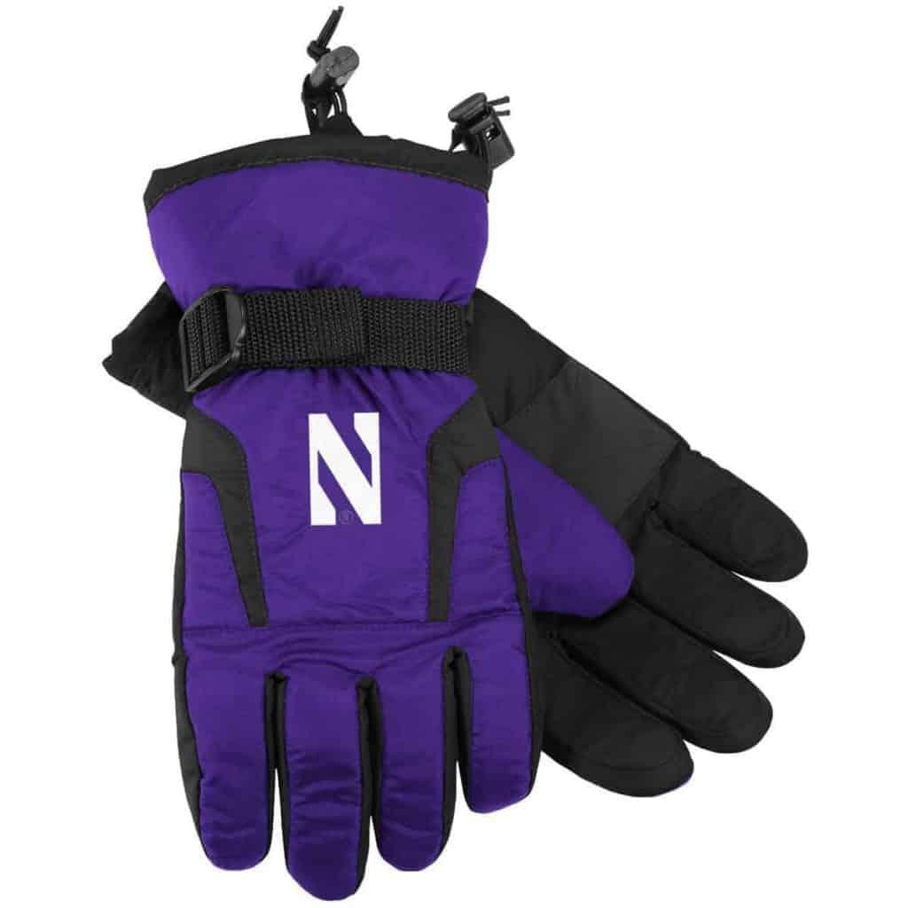 Northwestern Wildcats Adult Heavy Gloves
