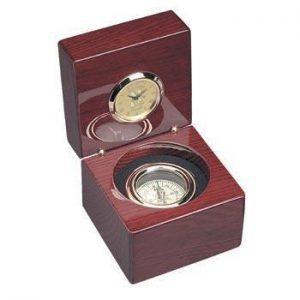 Northwestern Wildcats Mascot Design Gold Medallion Compass Clock