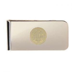Northwestern Wildcats Seal Design Gold Medallion Money Clip