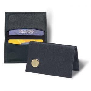 Northwestern Wildcats Seal Design Gold Medallion Credit Card Wallet
