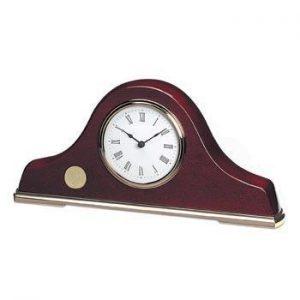 Northwestern Wildcats Seal Design Gold Medallion Napoleon III Mantle Clock