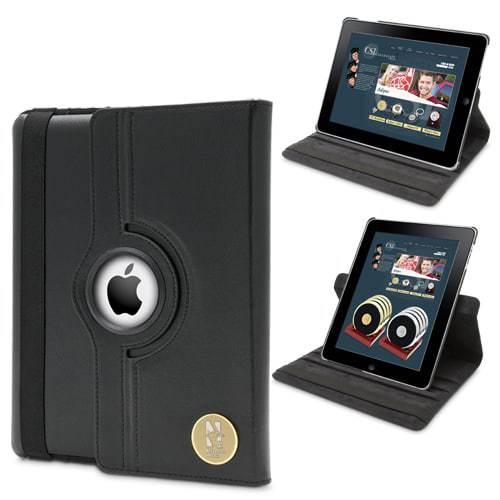 Northwestern Wildcats Mascot Design Gold Medallion iPad 2 & 3 Case