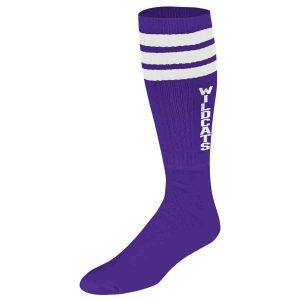 Northwestern Wildcats Purple Socks