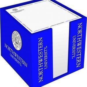 Northwestern Wildcats Classic Note Cube Holder