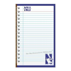 Northwestern Wildcats Memo Pad