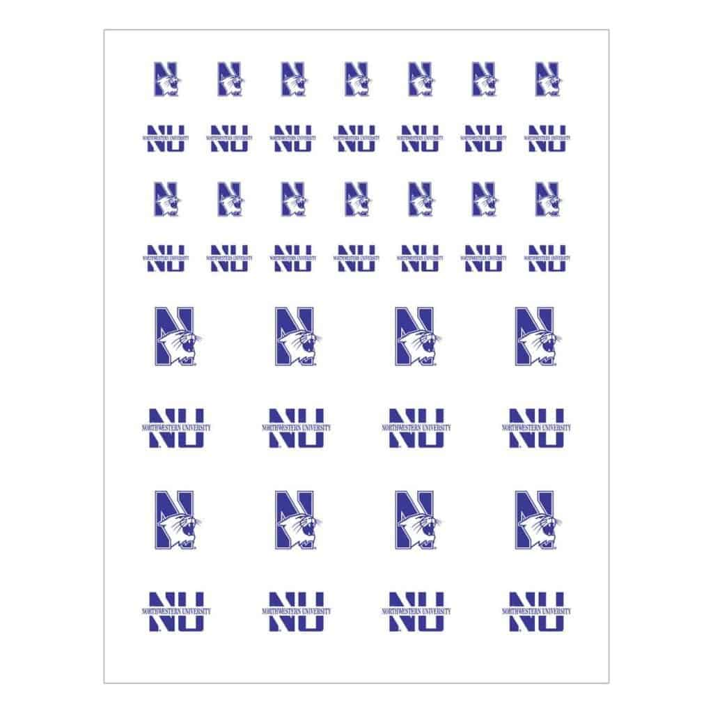 Northwestern Wildcats Sticker Pack