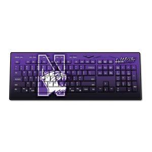 Northwestern Wildcats Wireless USB Keyboard