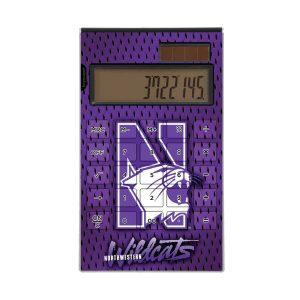 Northwestern Wildcats Desktop Calculator