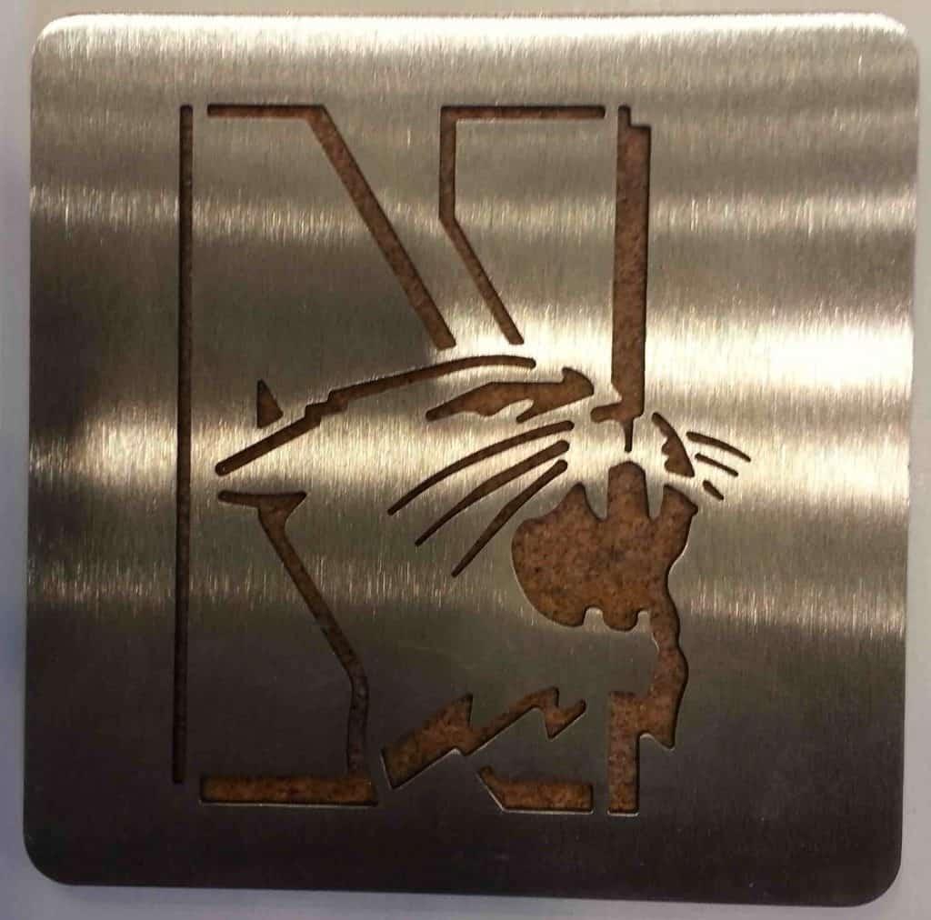 Northwestern Wildcats Boaster Coaster