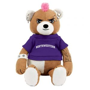 "Northwestern Wildcats The Unbearable Diesel Wearing Purple ""Northwestern"" Tee Shirt"