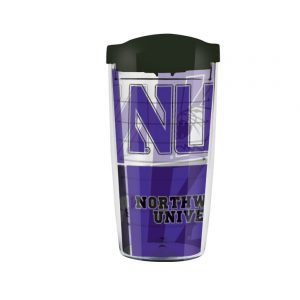 Northwestern Wildcats 16 OZ Titan Tumbler with a Lid