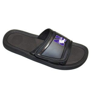 Northwestern Wildcats Flip Flops