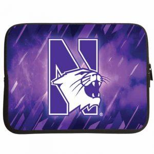 "Northwestern Wildcats Full Color Neoprene 10"" Notebook/iPad Sleeve"
