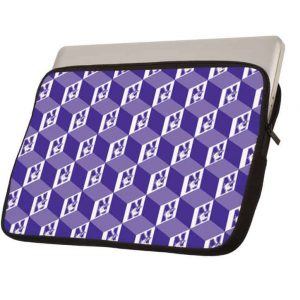 "Northwestern Wildcats Full Color Neoprene 13"" Laptop Sleeve"