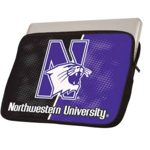 "Northwestern Wildcats Full Color Neoprene 15"" Laptop Sleeve"