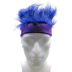 Purple Headband Wig