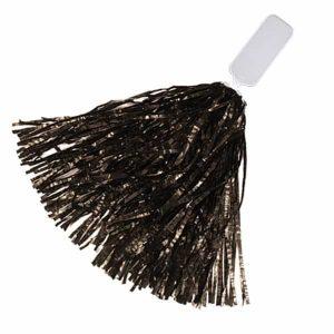 Black Pom Poms