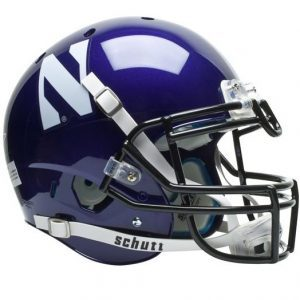 Northwestern Wildcats Schutt Full Size XP Authentic Helmet